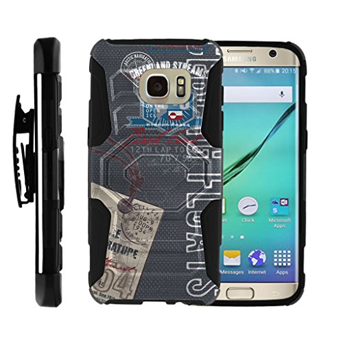 MINITURTLE Case Compatible w/Galaxy S7 Edge Case