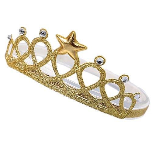 (Demarkt Baby Girls Boys Headbands Crown Hair Band Princess Prince Hair Band for)