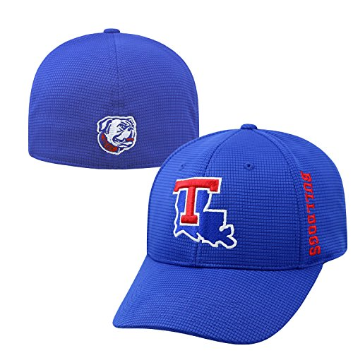 Top of the World Louisiana Tech Bulldogs Official NCAA One Fit Booster Plus Hat Cap by (Bulldogs One Fit Cap)