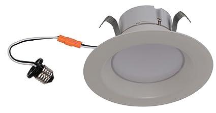 Goodlite G-83448 4 Inch Round Retrofit LED Recessed Lighting Fixture, 5000K Super White