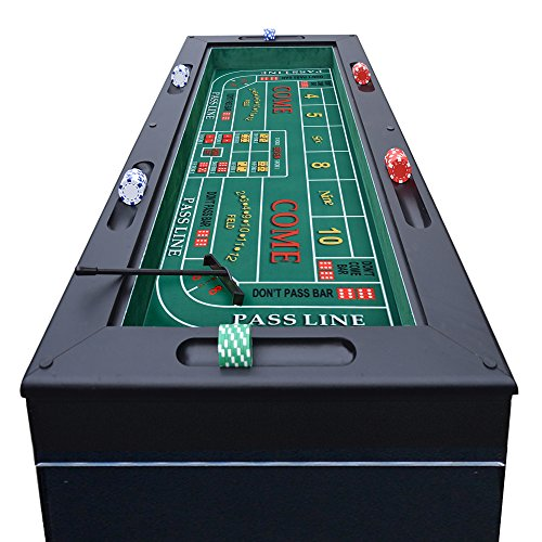 Hathaway Monte Carlo 4 In 1 Casino Game Table Welcome To