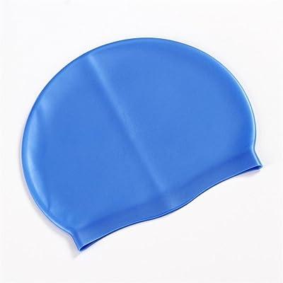 Enfants Nager Chapeau adultes confortable Bonnet de bain Revêtement PU étanche mode accessoires chapeau sur 25* 15cm pour Homme/Femme Multicolore en option