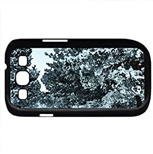 Snow (Winter Series) Watercolor style - Case Cover For Samsung Galaxy S3 i9300 (Black)