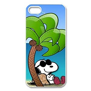 FashionFollower Design Animation Series Snoopy Beautiful Hard Shell Case For iphone5 IP5WN34017