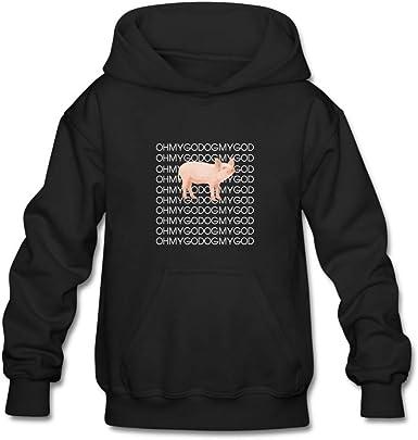 Omg Pig Unisex Hooded Top... OH MY GOD PIG Funny Novelty Hoodie Shane Dawson