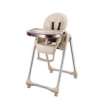 Yyqtzy Silla Alta for bebé - Mesa y sillas Plegables for el ...