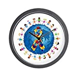 CafePress – Autism-1 – Unique Decorative 10″ Wall Clock For Sale
