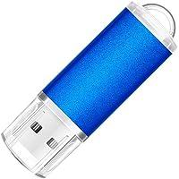 Memoria USB 2.0 de 32 GB, 64 GB, 128 GB, 256 GB, Color Azul (256.00GB)