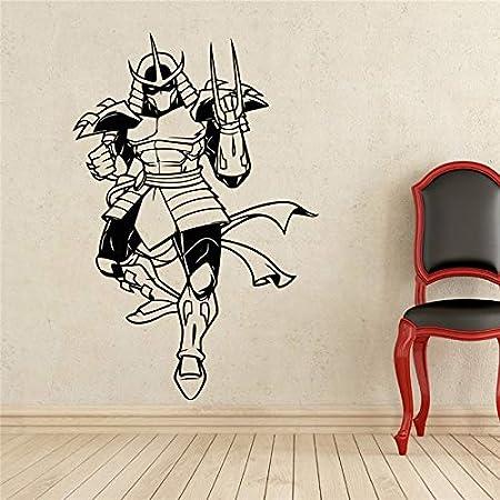 hllhpc Trituradora Tatuajes de Pared Tortugas Ninja Superhéroe ...