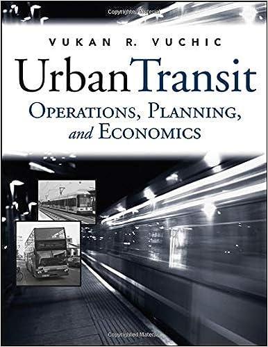 Operations urban pdf economics transit and planning