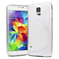 Samsung Galaxy S5 Slim TPU Gel Case - White