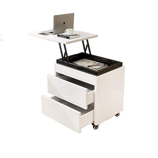 Mesa auxiliar Mesita de noche: roble blanco dormitorio simple ...