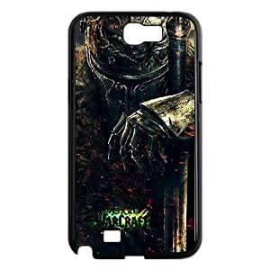 Good Quality Phone Case With HD World Of Warcraft Images On The Back , Perfectly Fit To Samsung Galaxy Note 2