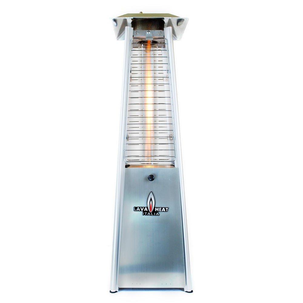 Amazon.com : Lava Heat Italia Tabletop Propane Patio Heater Mini, 21000  Btu, Stainless Steel : Space Heaters : Garden U0026 Outdoor