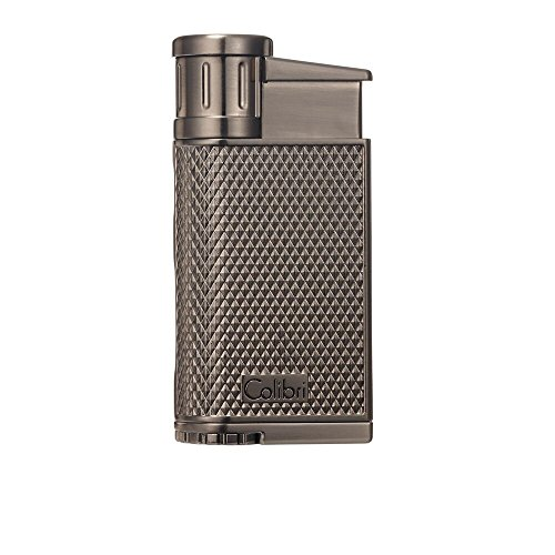 Colibri EVO Angled Single Jet Flame Lighter - Gunmetal