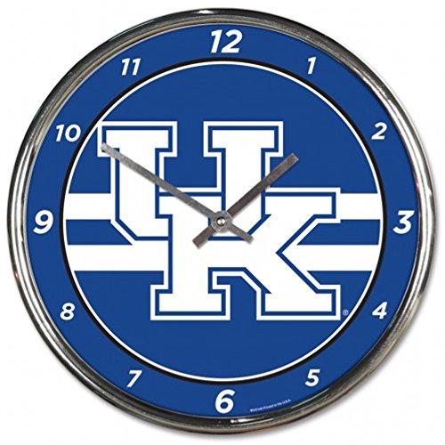 - NCAA Kentucky Wildcats WinCraft Official Chrome Clock
