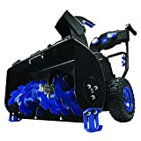 Snow Joe ION8024-XR 24-inch 80 Volt 2x5 Ah Batteries Cordless Two Stage Snow Blower 4-Speed + Headlights