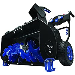 Snow Joe ION8024-CT 24-Inch Cordless Two Stage Snow Blower 80 Volt + 4-Speed + Headlights (Core Tool Only)