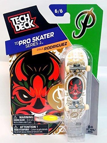 e2b38c8829e86 Image Unavailable. Image not available for. Color  Tech Deck TD pro Skater  Series 2 Paul Rodriguez ...