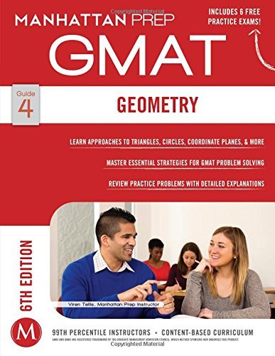 By Manhattan Prep - Geometry GMAT Strategy Guide, 6th Edition (Manhattan Gmat Strateg (6 Pap/Psc) (2014-12-17) [Paperback]