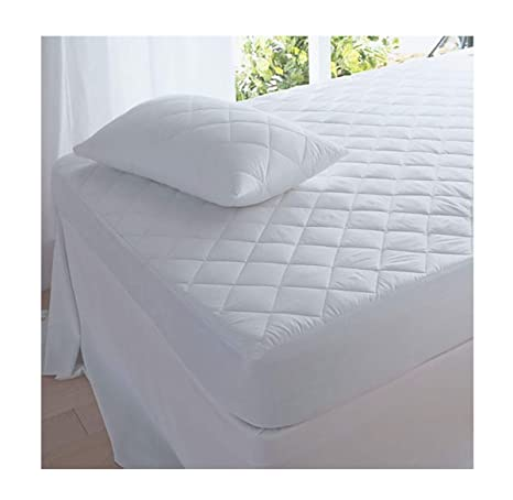 QUILTED Mattress Cover Protector Matress Sheet Gift Machine Washable Double Size