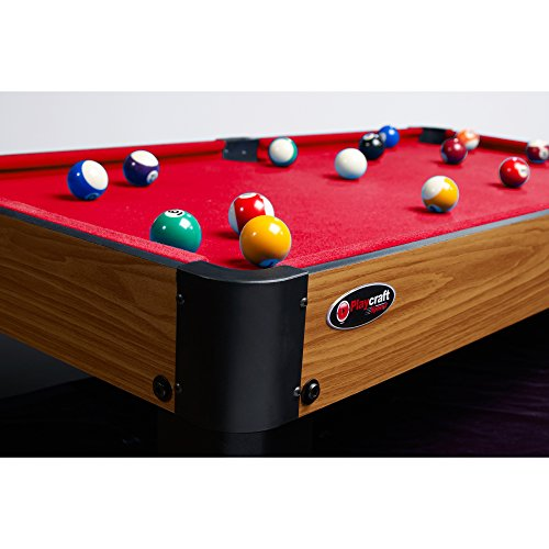 Playcraft Sport Bank Shot Inch Pool Table Full Size Air Hockey - 40 inch pool table