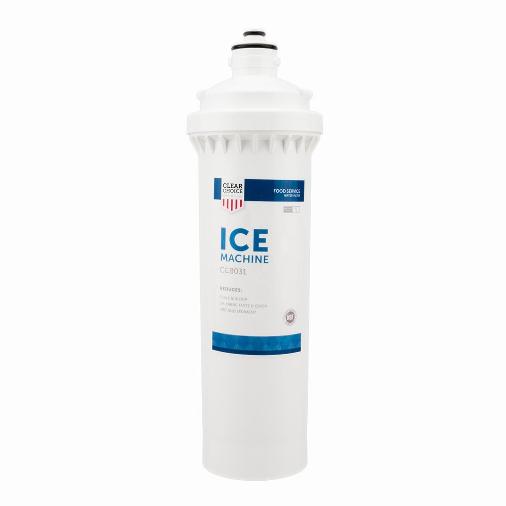 Clear Choice Ice Filtration System Replacement Cartridge for CUNO 55890-01 5589001 CFS9720-S Also Compatible with CUNO 55890-01 5589001 CFS9720-S, 1-Pack