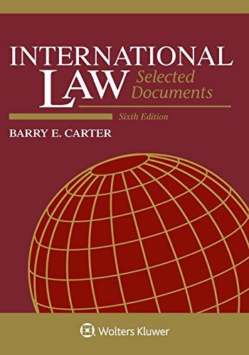 International Law:Select.Doc.13 15 Ed.