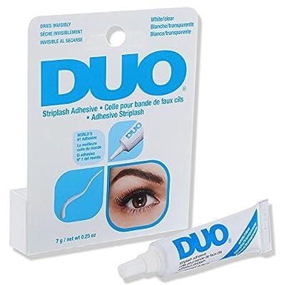 DUO Strip Lash Adhesive White/Clear, for strip false eyelash