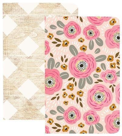 Webster's Pages MHP Pocket Notebooks - Flower&Wood (NP211)