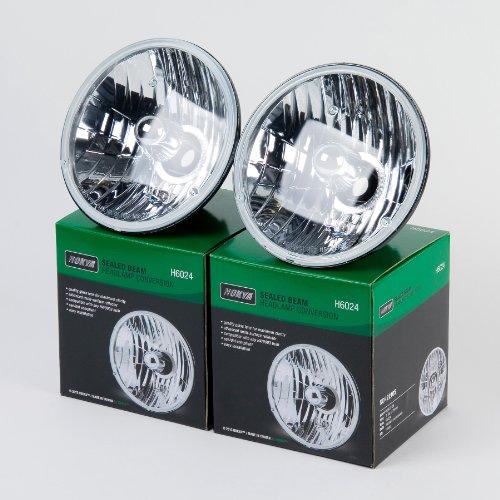 Nokya H6024 Sealed Beam Headlight Conversion 7
