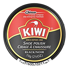 Kiwi Shoe Polish Contains A Time-Honored Blend Of Quality Waxes That Protect And Nourish Leather And Produce A Long Lasting Glossy Shine. Superior Staining And Scuff Coverage. To Use; Apply Polish With A Cloth Or Polish Applicator. Allow Dryi...