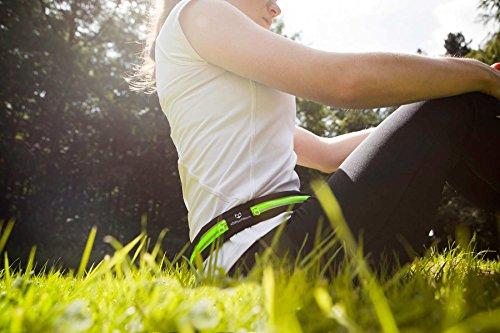 Laufgurt »RunActive« Stilvolle Gürteltasche / Bauchtasche / Lauftasche für Laufen, Wandern, Klettern, Reiten - 3x Farben / Handys von ca.4Zoll bis ca. 5,5Zoll / ideale Diebstahlschutz z.B. auf Reisen  pink