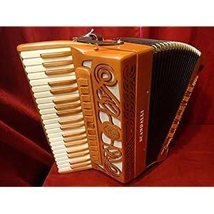 NEW Scandalli Piano Accordion Intense Air Double Tone Chamber 41/120 4/5 LMMH