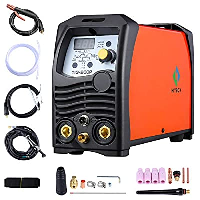 TIG Welder Pulse 180A 220V Inverter IGBT Stick TIG Digital Welder Welding Machine HITBOX