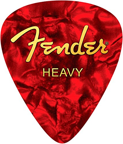 - Fender Heavy Pick Mouse Pad - Red