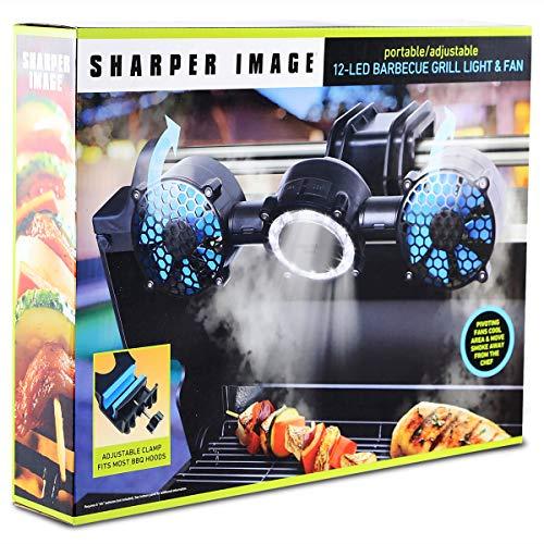 Sharper Image Portable Adjustable 12 Led Bbq Grill Light