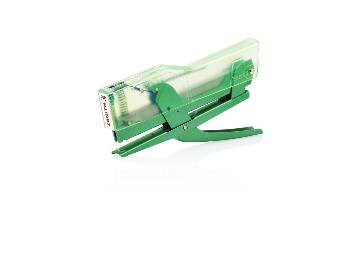 Verde Metallizzato Zenith 590 Met Cucitrici a Pinza
