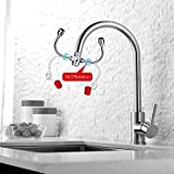 CalmMax Eyewash Sink Faucet Mount, Emergency Eye