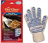 Ove' Glove, Heat Resistant, Hot Surface Handler Oven Mitt/Grilling Glove, Perfect For Kitchen/Grilling, 540 Degree Resistance, As Seen On TV Household Gift