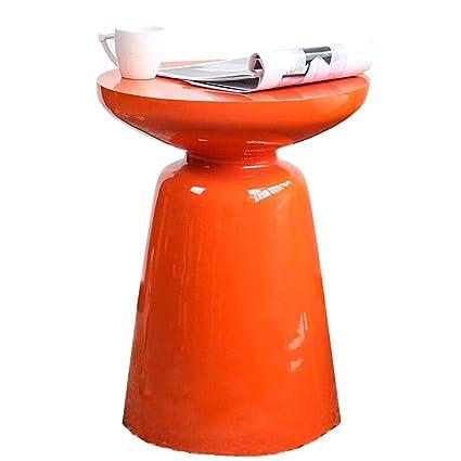 Round Table Orange.Nordic Coffee Table Sofa Martini High Round Table Mini Mobile