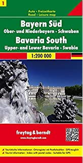 BadenWurttemberg Germany Road Map Road Maps Amazoncouk