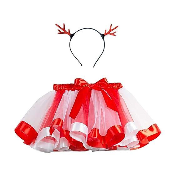 CyFe Faldas de Tul para niñas y bebés, Disfraz de arcoíris con ...