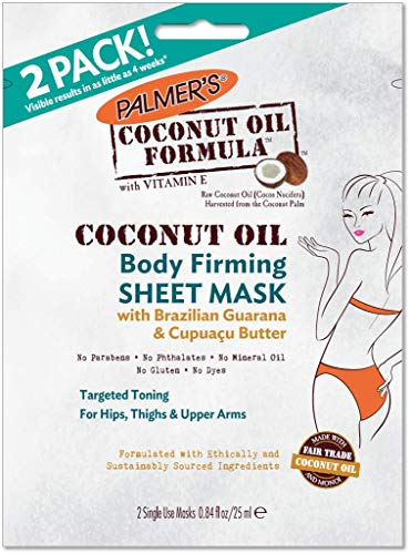 Palmer's Coconut Oil Formula Body Firming Sheet Mask, 0.84 oz. (Pack of ()