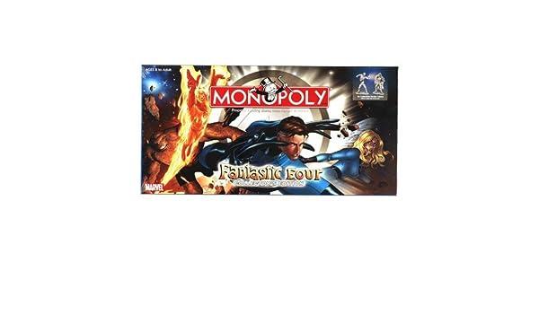 Fantastic Four Monopoly by Monopoly: Amazon.es: Juguetes y juegos