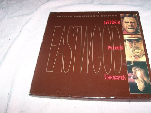 The Outlaw Josey Wales /Pale Rider /Unforgiven /Special Collector's Edition LaserDisc Box Set