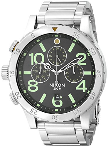 Nixon Men's A4861956 48-20 Pacific Station Chrono - Shade Watches Station