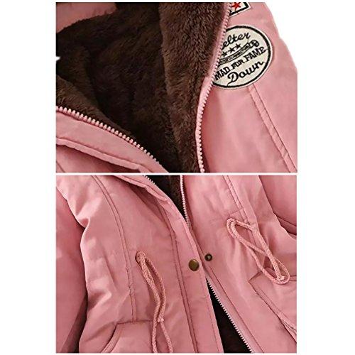 Tribangke - Abrigo - para mujer Rosa