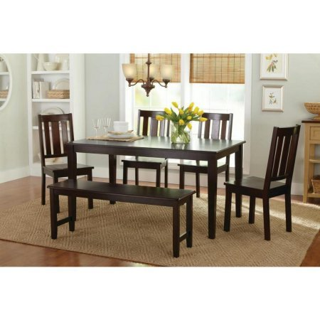Better Homes and Gardens Bankston Dining Chairs, Set of 2, Mocha by Better Homes & Gardens (Image #3)