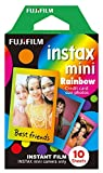 Fujifilm Instax Mini Film 13 Pack Single Pack, Rainbow, Candy Pop, Stained Glass, Shiny Star, Alice, Comic, Airmail, Stripe, RiLakkuma, Pooh, MICKEY, Little Twin Stars and
